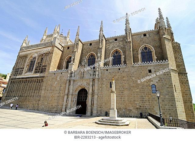 San Juan de los Reyes Monastery, church, Toledo, Castile La-Mancha, Spain, Europe, PublicGround