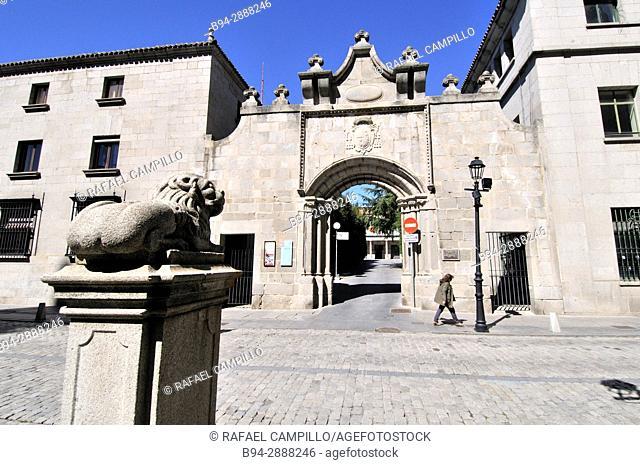 Palacio del Rey Niño. XII century. Avila. Castilla León. Spain