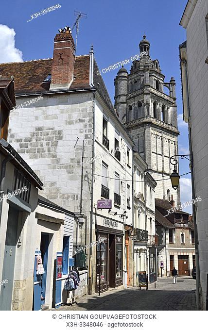 Saint-Antoine Tower, Loches in Touraine, department of Indre-et-Loire, Centre-Val de Loire region, France, Europe