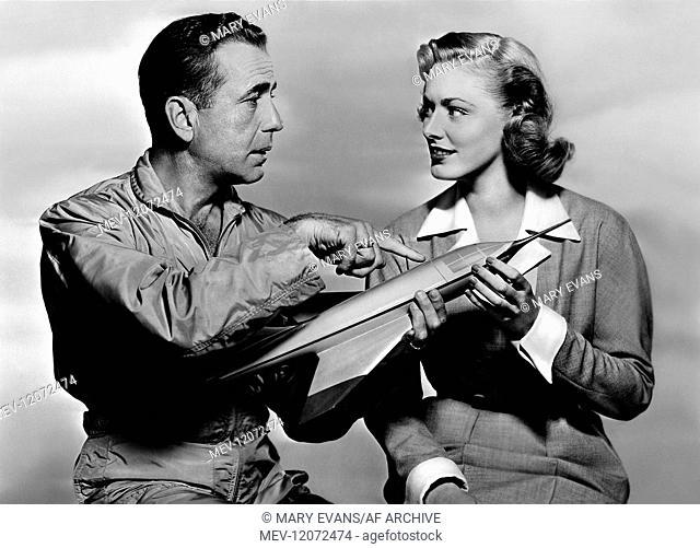 Humphrey Bogart, Eleanor Parker Characters: Lt. Col. Matthew 'Matt' Brennan, Joan 'Jo' Holloway Film: Chain Lightning (1953) Director: Stuart Heisler 18...