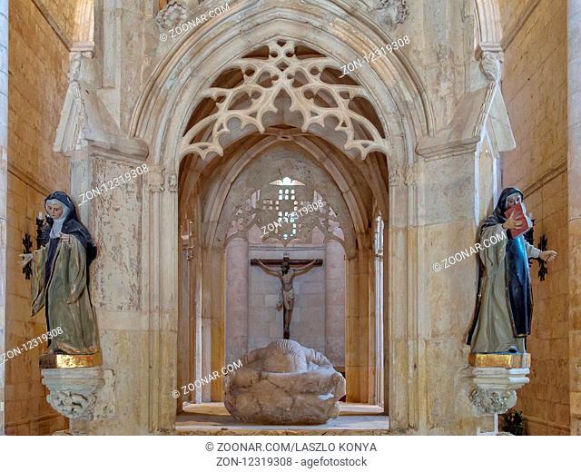 The tomb and remains of San Juan inside the church - San Juan de Ortega, Castile and León, Spain, 11 September 2014
