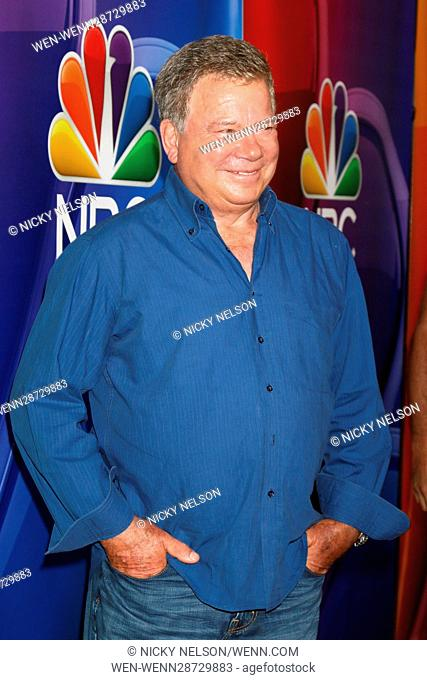 NBCUniversal TCA Summer 2016 Press Tour at the Beverly Hilton Hotel on August 2, 2016 in Beverly Hills, CA Featuring: William Shatner Where: Beverly Hills