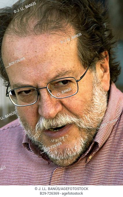 Oscar Nebreda, Spanish cartoonist, editor of 'El jueves' satyrical magazine