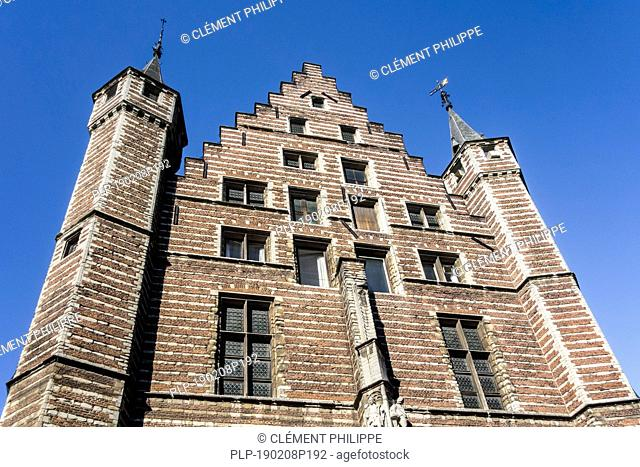 Vleeshuis / Butcher's Hall / Meat House, former guildhall now museum about musical instruments in Antwerp, Belgium