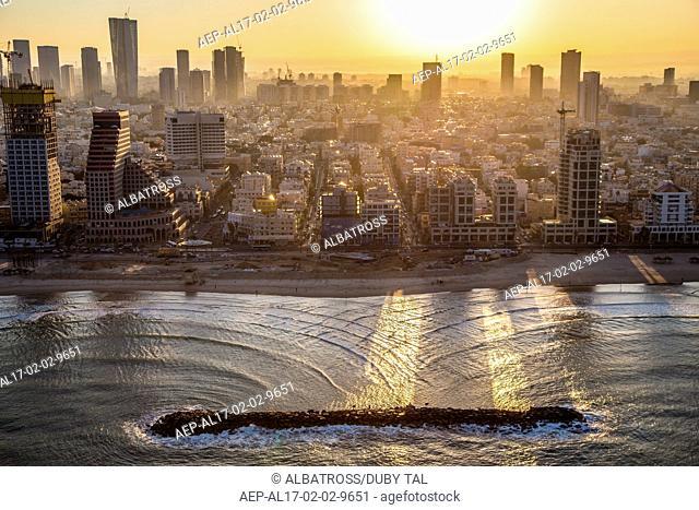 Teal Aviv Sunset
