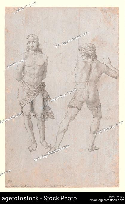 The Flagellation. Artist: Italian, Veneto (early 16th century); Date: early 16th century; Culture: Italian (Veneto); Medium: Metalpoint, brush and gray wash