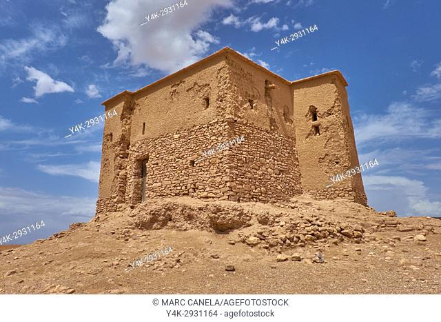 Africa, Morocco, Ait ben Haddou near Ouarzazate