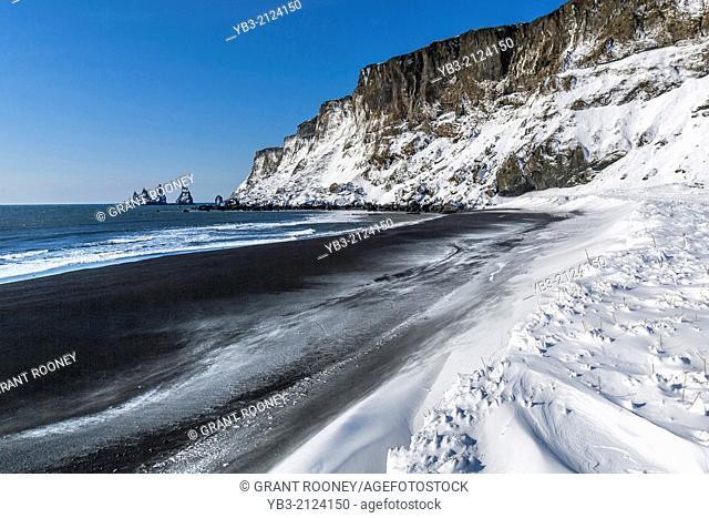 Black Sand Beach, Vík í Mýrdal, Iceland