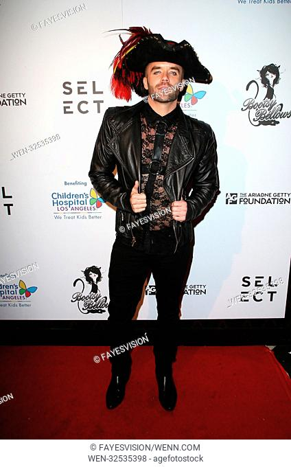 """Gigi Gorgeous Hosts Haunted """"Carn-Evil for Good"""" Halloween Bash Benefiting Transyouth Featuring: Brian Justin Crumb Where: West Hollywood, California"""