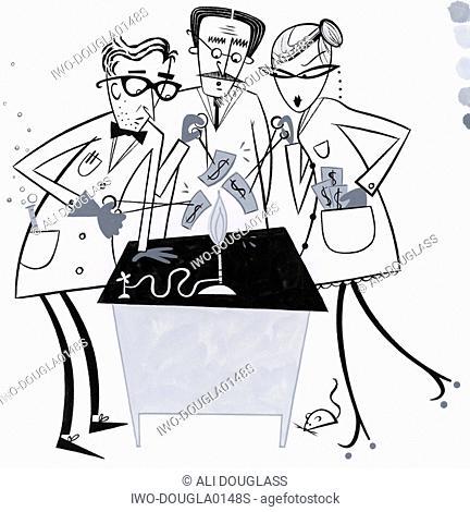 Three Scientists