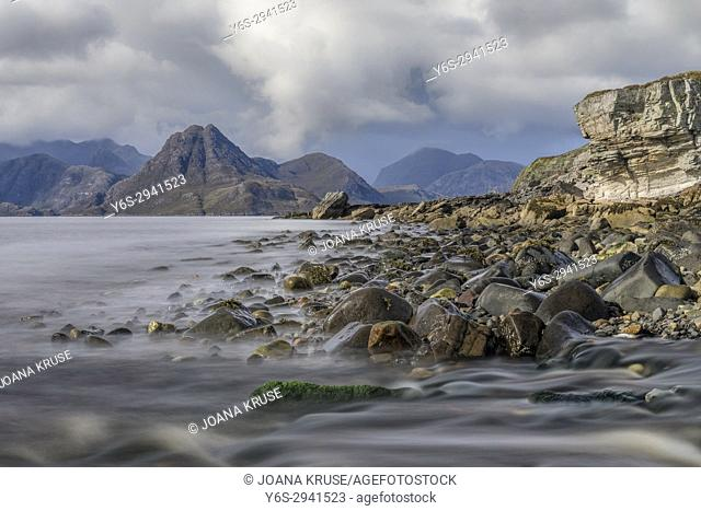 Elgol, Cuillin Mountains, Isle of Skye, Scotland, United Kingdom