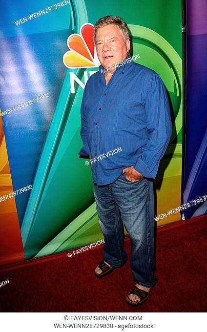2016 Summer TCA Tour - NBCUniversal Press Tour Day 1 Featuring: William Shatner Where: Beverly Hills, California, United States When: 02 Aug 2016 Credit:...