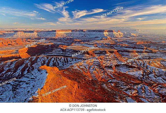 Colorado River canyon from Dead Horse Point, Dead Horse Point State Park, Utah, USA