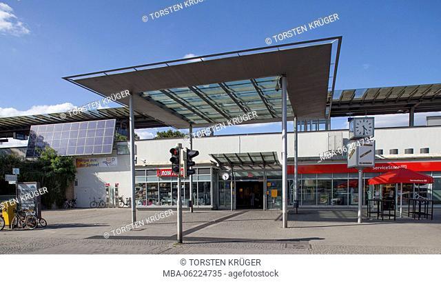 Central Station, Delmenhorst, Lower Saxony, Germany, Europe