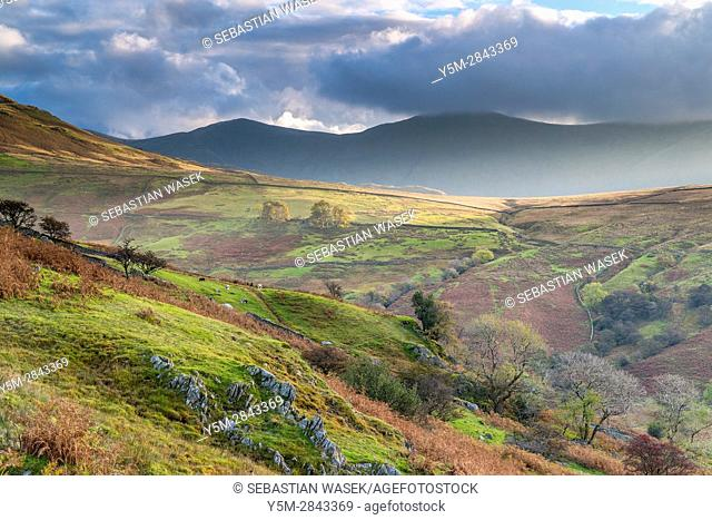 Kirkstone Pass, Lake District National Park, Cumbria, England, United Kingdom, Europe