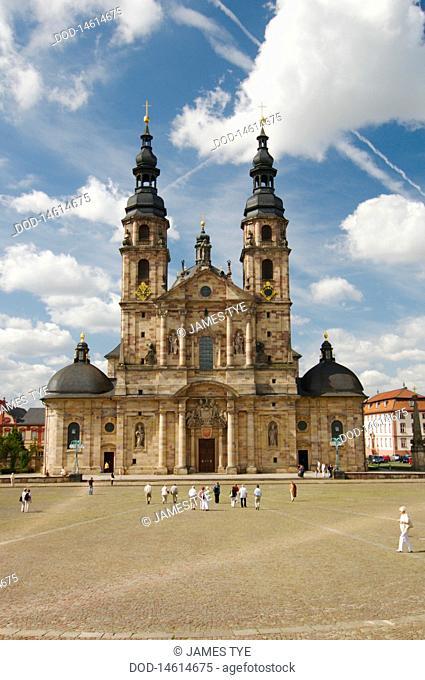 Germany, Hesse, Fulda, Dom St Salvator