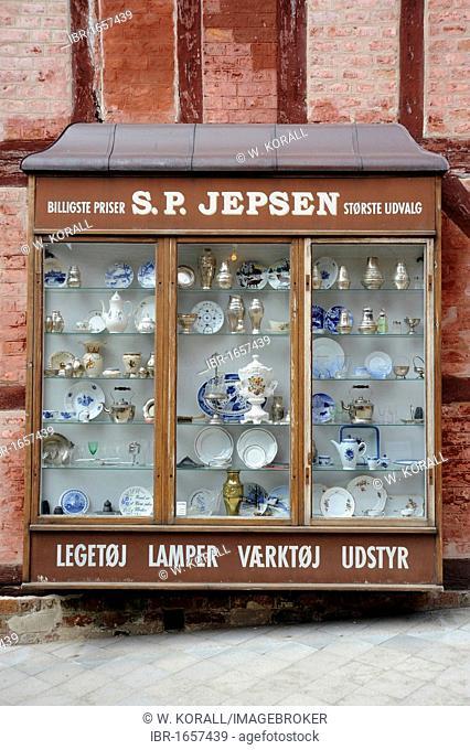 Historic lamp shop, oen-air museum the Old Town or Den Gamle By, Århus or Aarhus, Jutland, Denmark, Europe