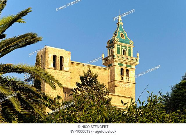Charterhouse of Valldemossa, Majorca, Balearic Islands, Spain, Europe