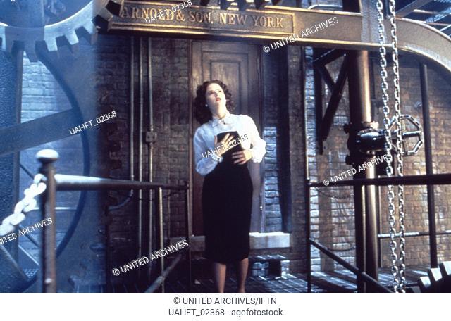 The Hudsucker Proxy, aka: Hudsucker - Der große Sprung, Großbritannien/Deutschland/USA 1994, Regie: Joel Coen, Darsteller: Jennifer Jason Leigh