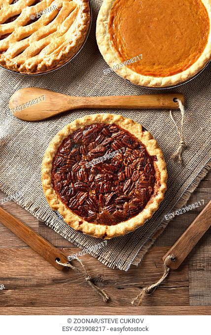 Three Holiday Pies