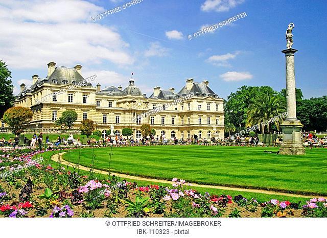 Jardin and Palais du Luxembourg, Paris, France