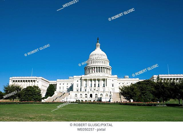 Capitol building in Washington, DC. USA
