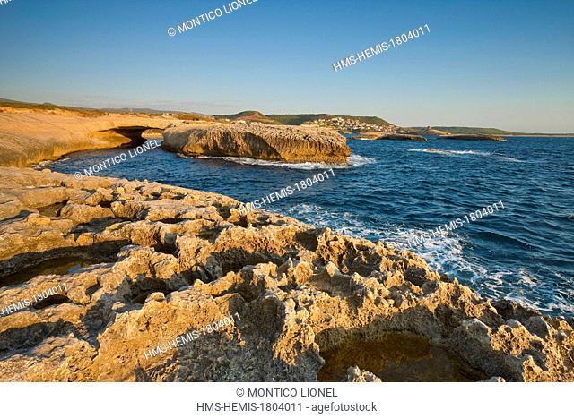 Italy, Sardinia, Oristano province, S'Archittu