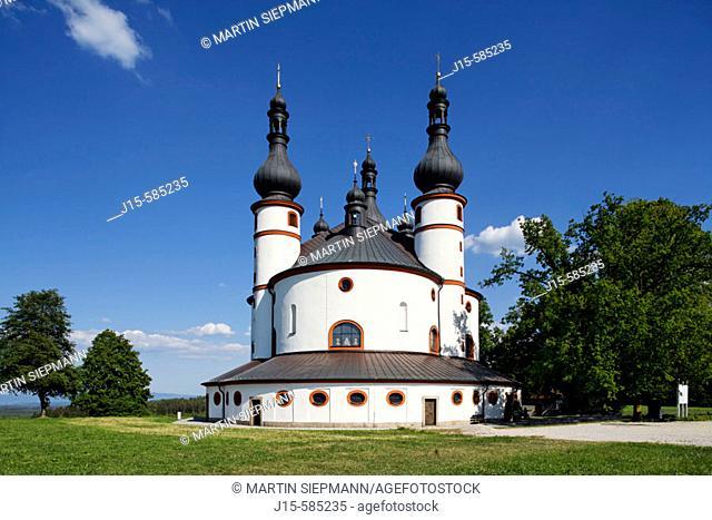 Kappel, pilgrimage church Waldsassen, Stiftland, Upper Palatinate. Bavaria Germany