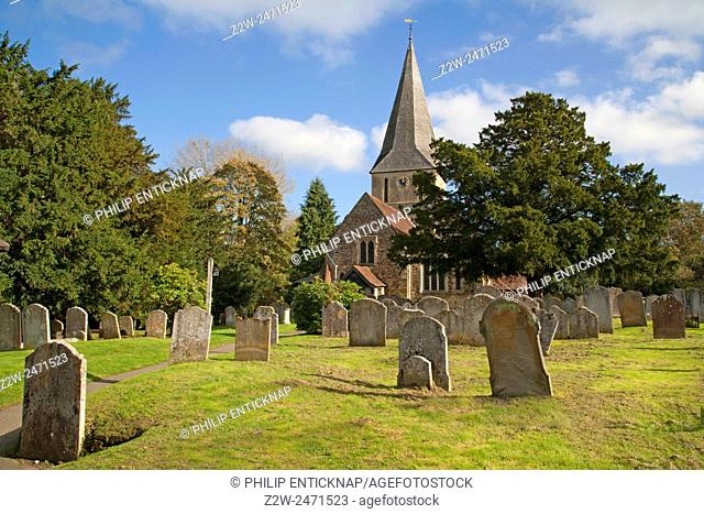 St James Church,Shere is a Grade I listed church of Norman construction, built in the 12th century Shere is an old style village in Surrey that has not changed...