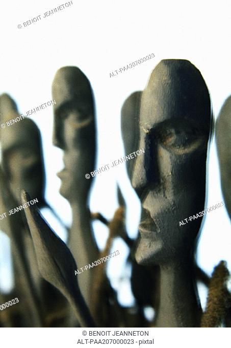 Sculpture, close-up
