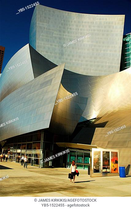 Exterior, Walt Disney Concert Hall, Los Angeles, California