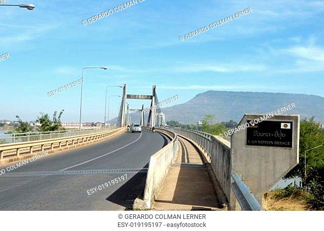 Pakse bridge,Laos