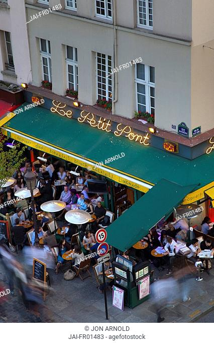Cafe/Bistro, Latin Quarter, Rive Gauche, Paris, France