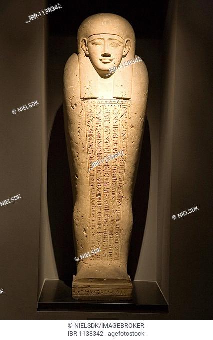 Mummy at The Glyptotek in Copenhagen, Denmark