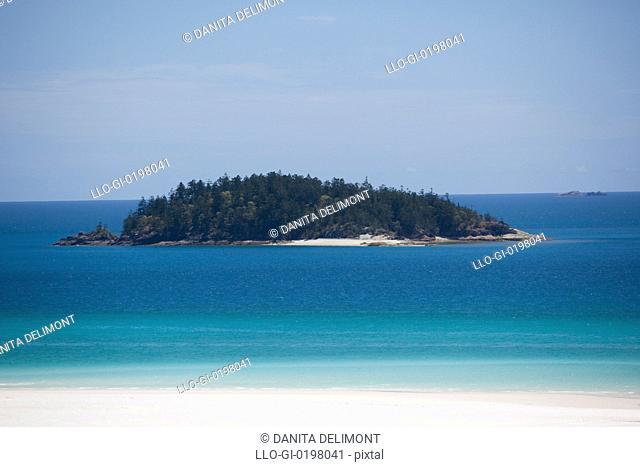 Esk Island, Hill Inlet, Tounge Point, Whitsunday Island, Whitsunday Islands, Queensland, Australia