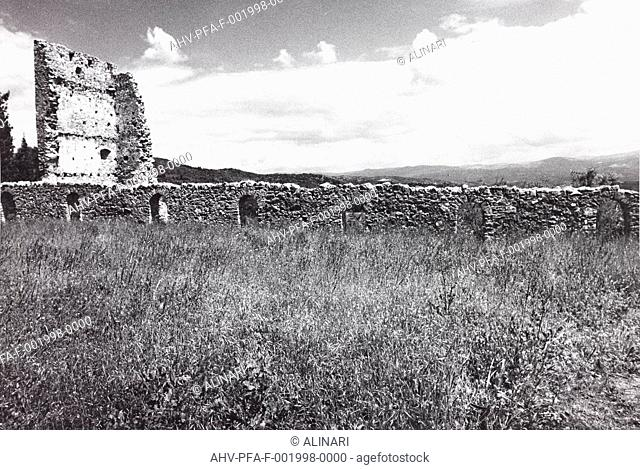 Archaeological excavations at Mystras in Greece, shot 05/1994 by Pittini, Filiberto