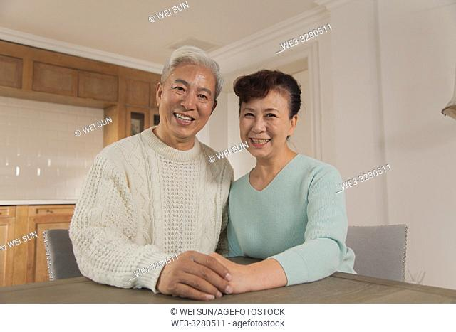 A loving old couple