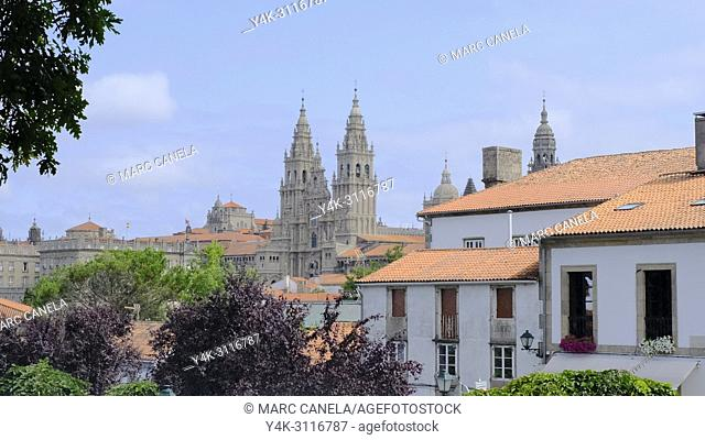 Santiago de compostela. Galicia, Spain, Europe