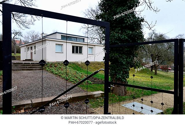 The 'Haus am Horn', photographed in Weimar, Germany, 11 March 2016. Supposedly towards the end of the year, the monument