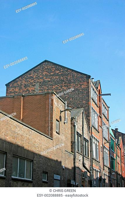 Old Warehouses in Liverpool