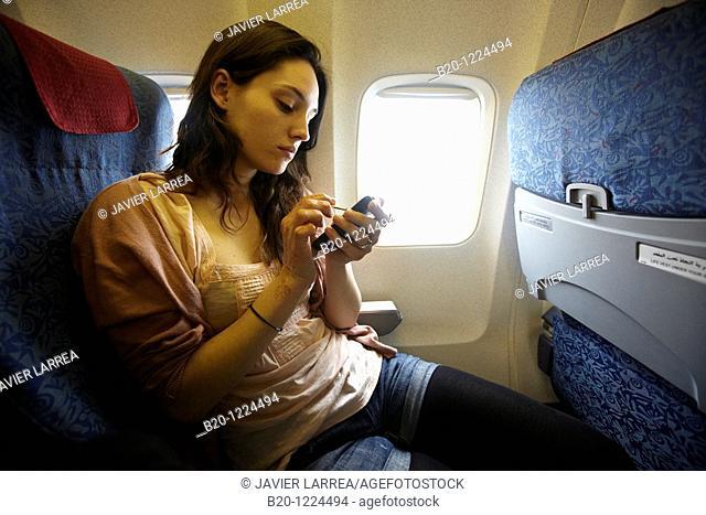 Juego en telefono móvil, Viaje en Avión, Marruecos