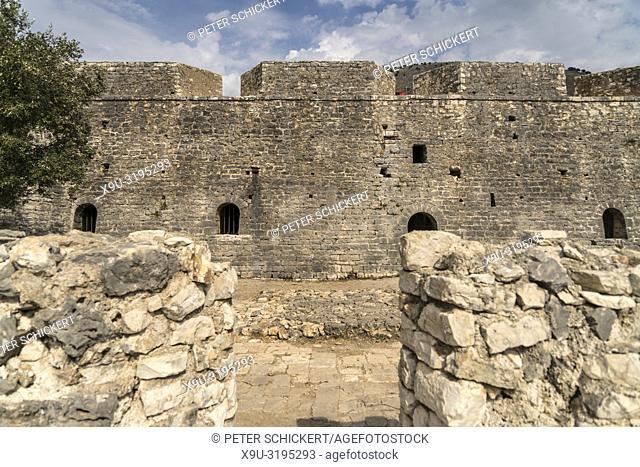 Porto Palermo Castle by Ali Pasha of Tepelena, Himara, Albania, Europe