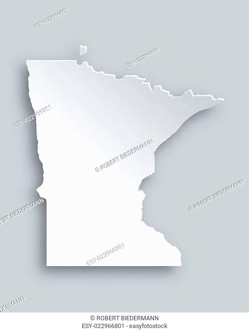 Karte von Minnesota