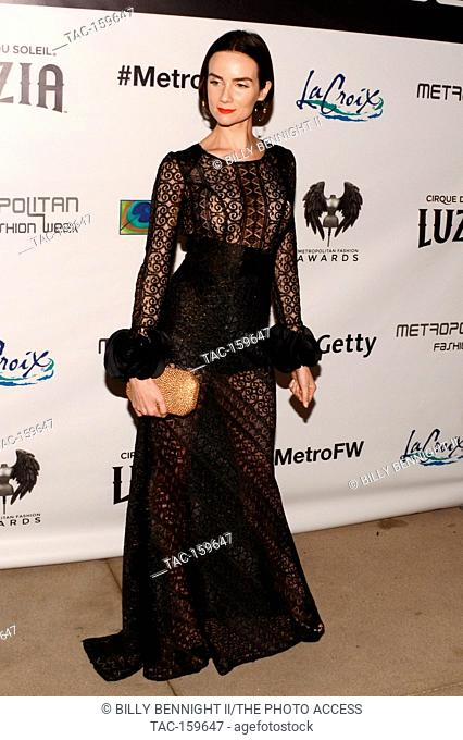 Victoria Summer arrives the Metropolitan Fashion Show Closing Gala and Fashion Awards at the Arcadia Performing Arts Center on October 5, 2017