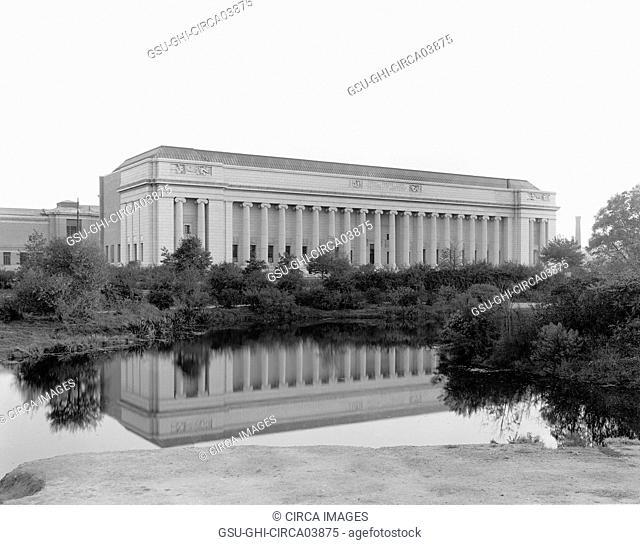 Museum of Fine Arts, Boston, Massachusetts, USA, Detroit Publishing Company, 1915