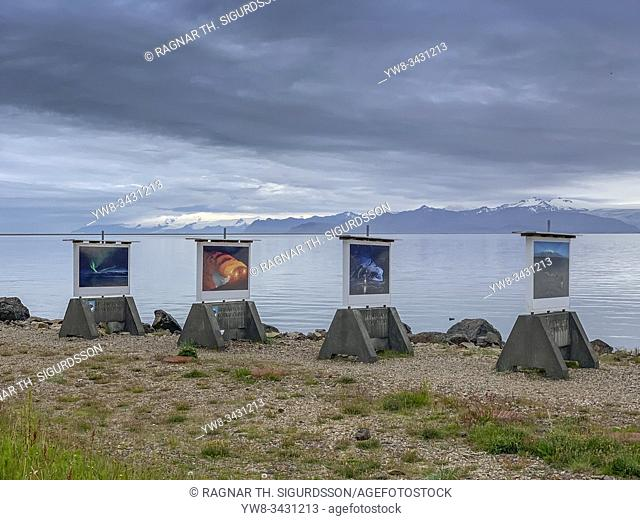 Photography exhibiton, Hofn in Hornafjordur, Iceland. . All images by professional Icelandic photographer, Ragnar Th Sigurdsson