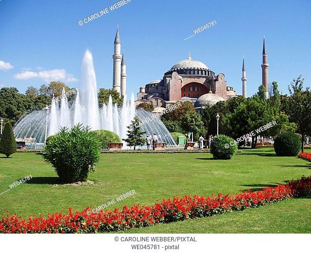 hagia sofia mosque, istanbul