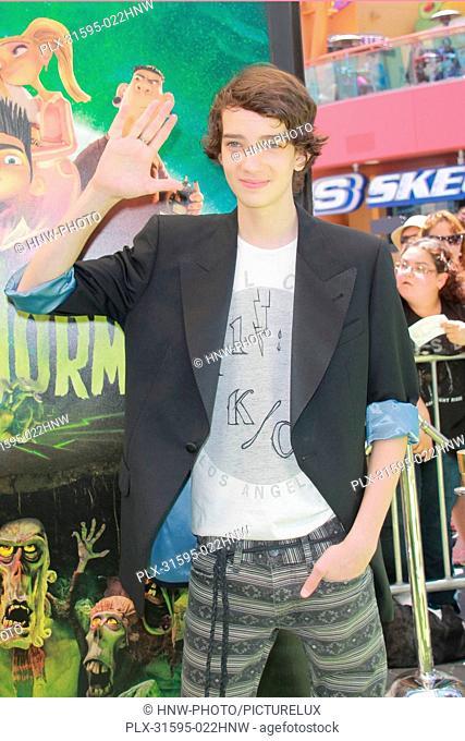 Kodi Smit-McPhee 08/05/2012 ParaNorman Premiere held at Universal City Walk Cinemas in Universal City, CA Photo by Izumi Hasegawa / HollywoodNewsWire