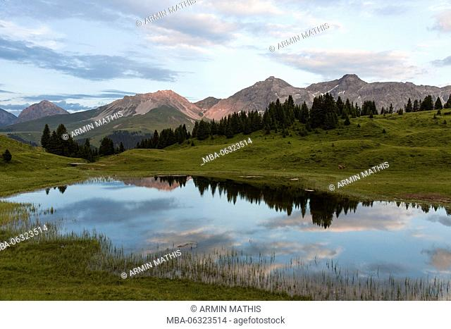 Summer evening at Arosa