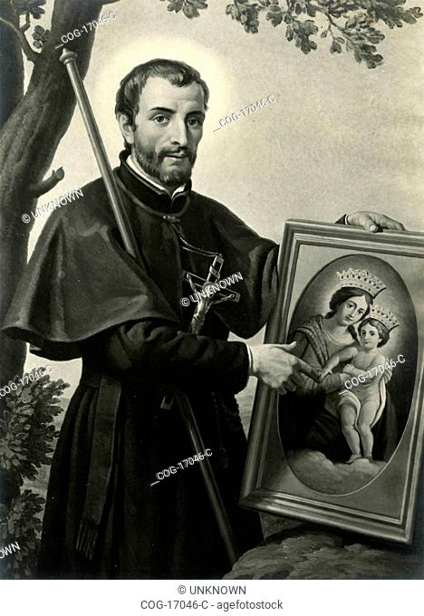 Portrait of blessed Antonius Baldinucci